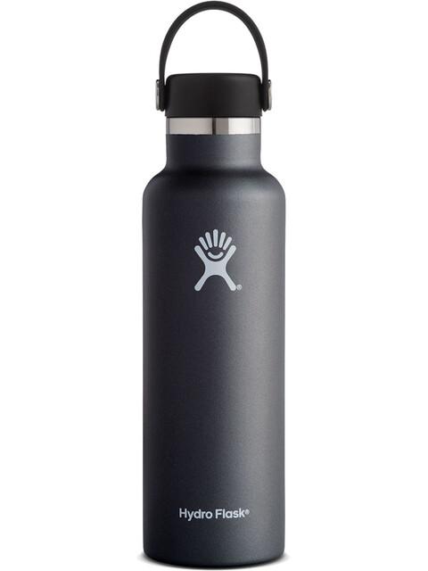 Hydro Flask Standard Mouth Flex Bottle 621ml Black